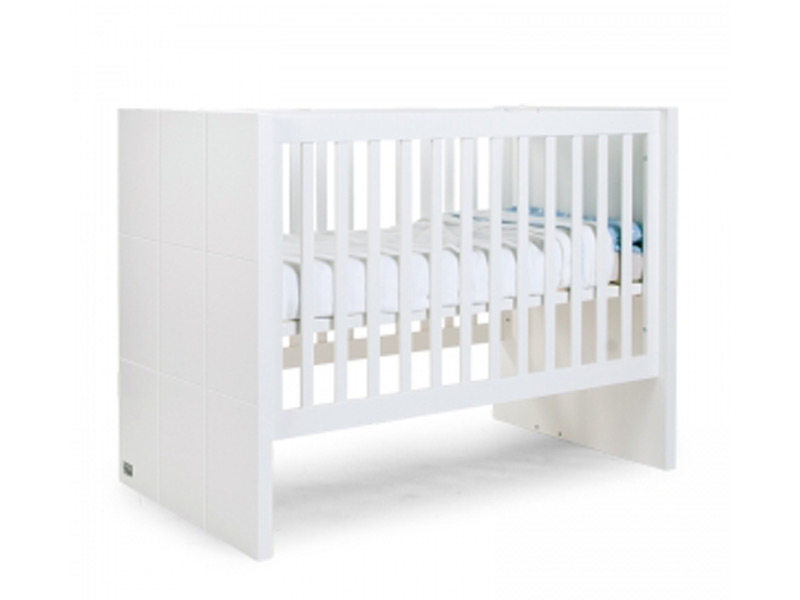 Babybed Aan Bed.Childhome Babybed Junioren Quadro White Showmodel Kopen