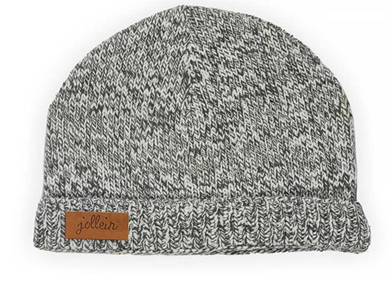 Jollein muts Stonewashed knit grey