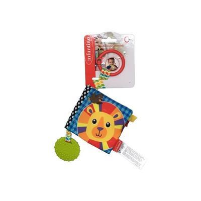 Infantino Animal Teether Book