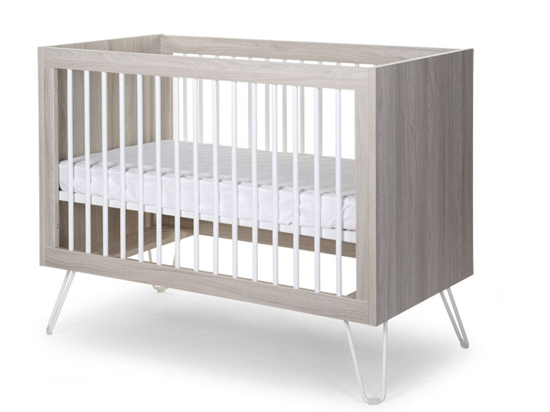 childhome IRONWOOD ASHEN BABYBED 60x120