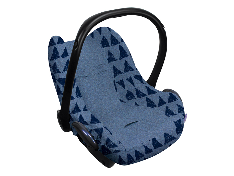 dooky dooky design seat cover blue tribal