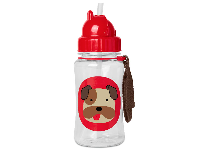 Skip hop Straw bottle hond limit edition