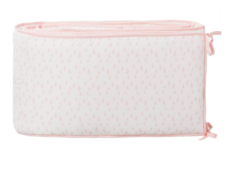 Fresk Bed bumper 180cm chintz rose raindrops
