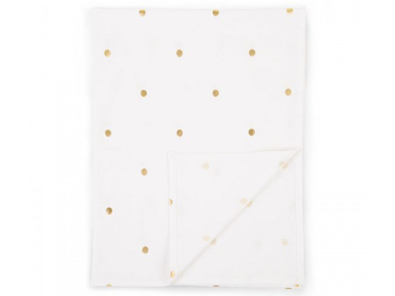 childhome Lakentje gold dots