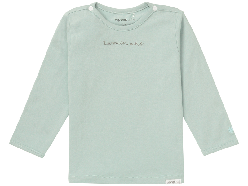 noppies T-shirt mint groen LM