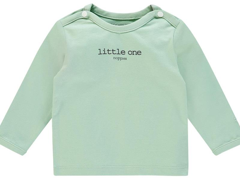 noppies T-shirt mint groen LM little one
