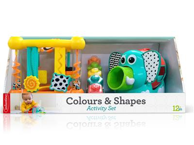 Infantino Main - Colours & Shapes Activity Set Kopen