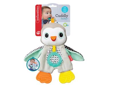 Infantino Infantino - Main - Cuddly Teether Penguin Kopen