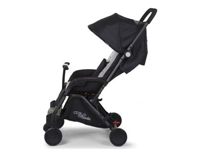 childhome NEW T-COMPACT BLACK STROLLER +adapter Kopen