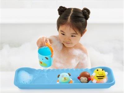 Skip hop moby shelfie bathtub play tray blue Kopen