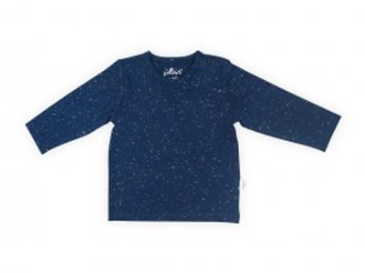 Jollein T-shirt LM speckled blue Kopen