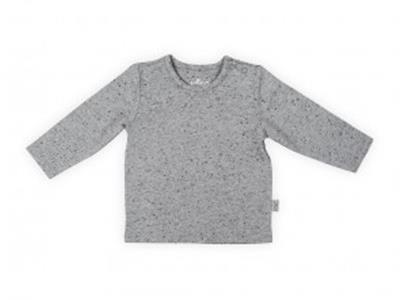 Jollein T-shirt LM speckled grey Kopen