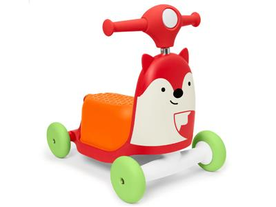 Skip hop ride on toy vos 3in1( loopwagen en step) Kopen