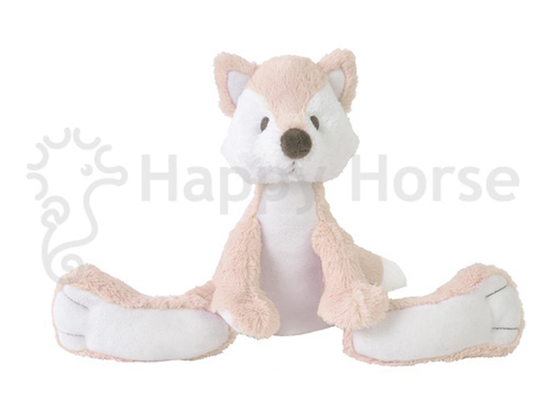 Happy horse vos knuffel nr 1. 22cm pink