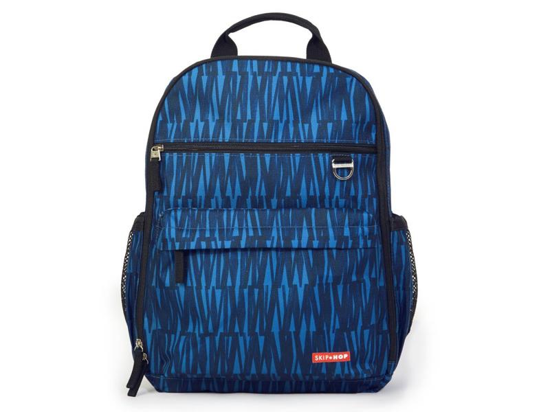86de7776dd0 Skip hop duo diaper backpack blue graffiti. Verzorgingstas duo dieper  backpack