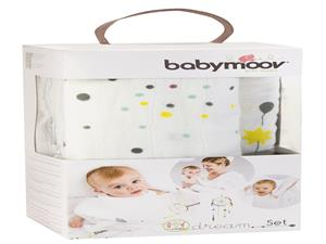 Babymoov Dream set van 3 katoenmousseline