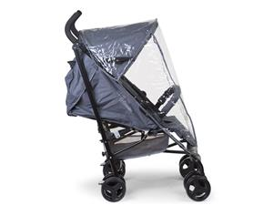 childhome BUGGY MULTI POS CANVAS grijs