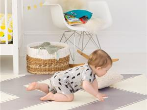 Skip hop playspot vloertegels cream/grey