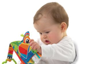 playgro MF Jazzy Jungle Teether Book
