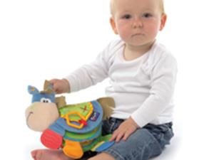 playgro TB Teether Book Clip Clop