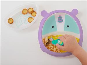 Skip hop Zoo eat Neat Plate & Bowl - unicorn
